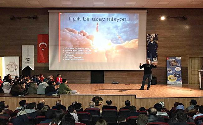 NASA'nın Türk Çalışanı Öğrencilerle Buluştu