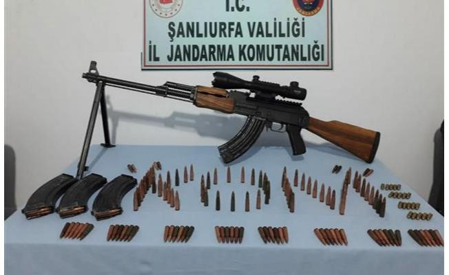 Şanlıurfa'da uyuşturucu ve silah ele geçirildi