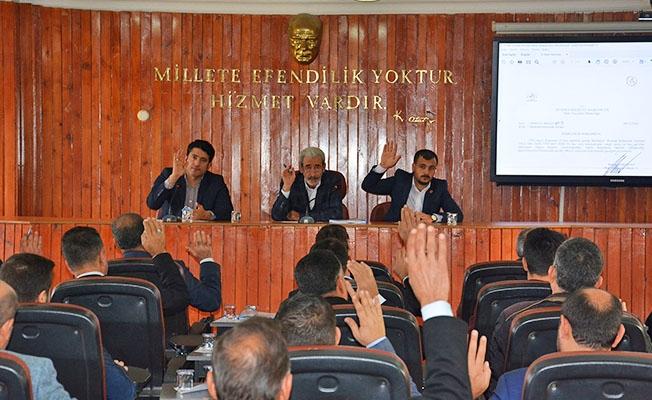 Siverek'te 2019'un son meclis toplantısı