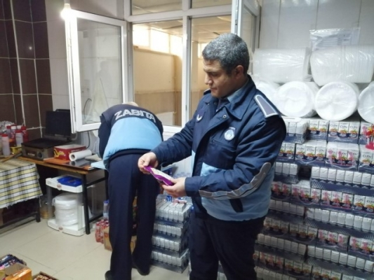 Siverek'te sağlığa zararlı ürünler imha edildi