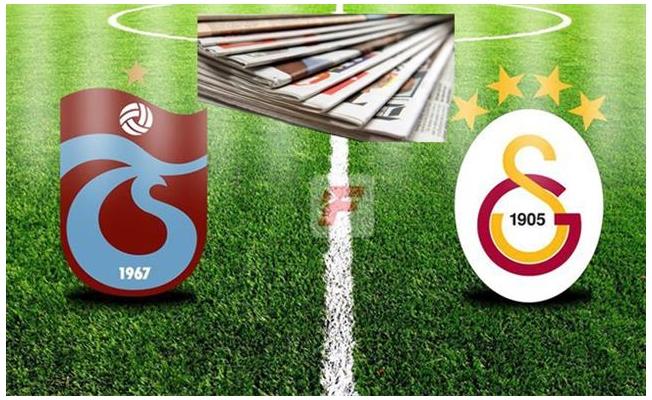 Trabzon basınında Galatasaray beraberliği
