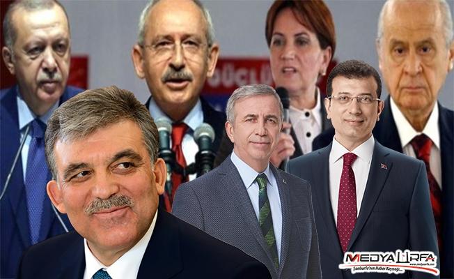Türkiye'de en çok beğenilen siyasetçiler