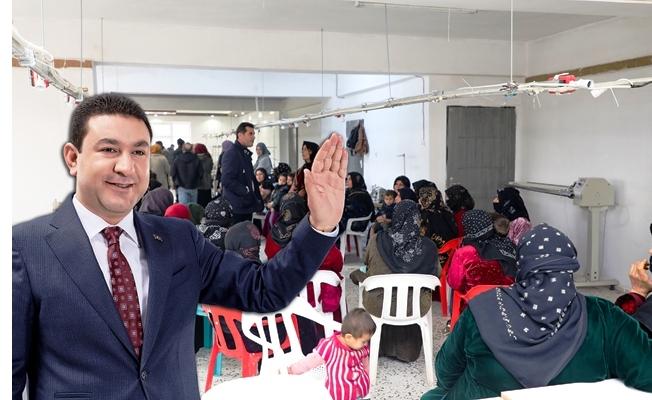 Başkan Özyavuz'dan Kadınlara İstihdam Desteği