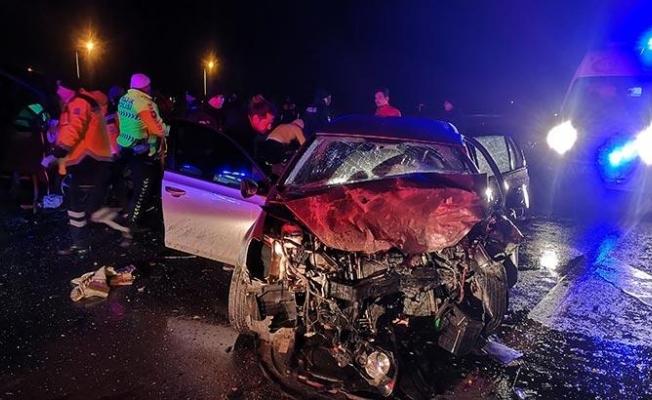 Edirne'de feci kaza: 3 ölü, 2 yaralı