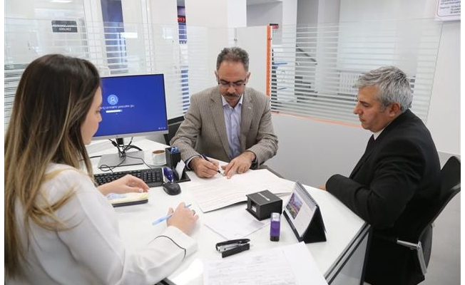 Eyyübiye'de Halkbank şubesi açıldı