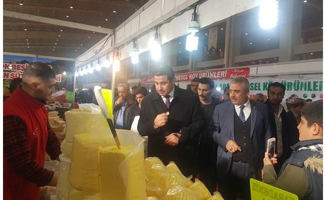Milletvekili Yıldız gıda fuarını gezdi