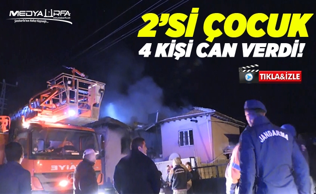 Niğde'de yangın: 4 kişi ölü, 3 kişi yaralı