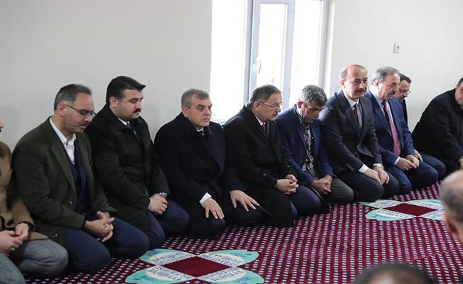 Özhaseki'den şehit ailesine taziye ziyareti