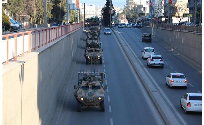 Askeri Sevkiyat Şanlıurfa'ya geldi
