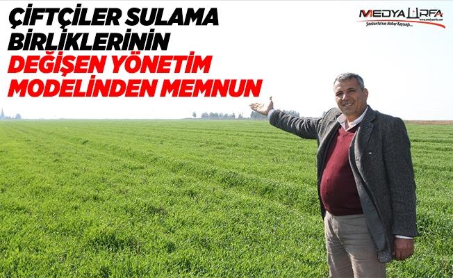 Çiftçiler değişen Sulama Birliği Modelinden Memnun