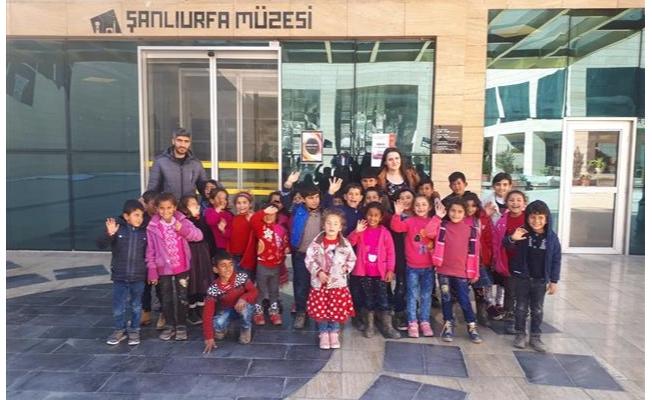 Dezavantajlı Bölgelerde Yaşayan Çocuklara Kültür Gezisi