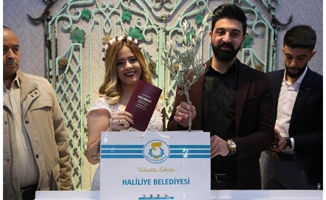 Evlilik için 14 Şubat'ı seçtiler