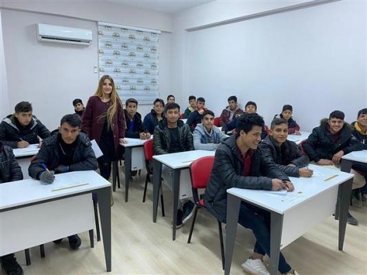 Harran Kültür ve Gençlik Merkezinde Kış Kursları