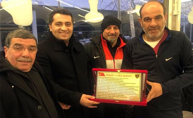 İbrahim Bengi Urfaspor'u ağırladı