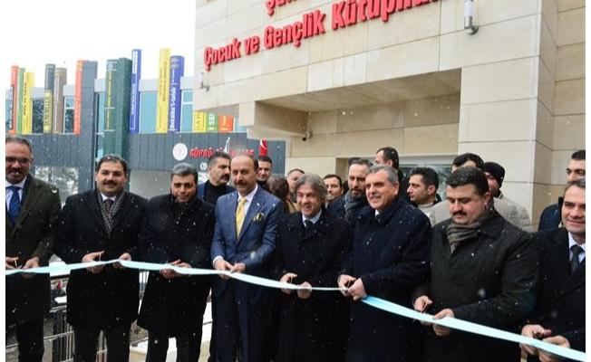 Urfa'da iki yeni kütüphane açıldı