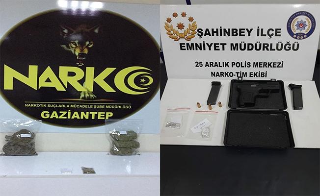 Gaziantep'te uyuşturucu operasyonu: 40 gözaltı