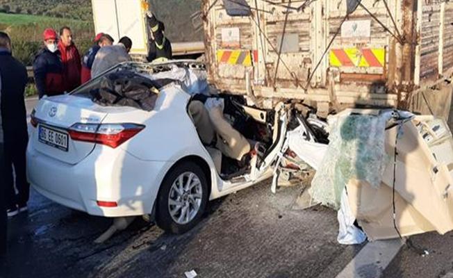 Osmaniye'de feci kaza: 3 ölü 2 yaralı