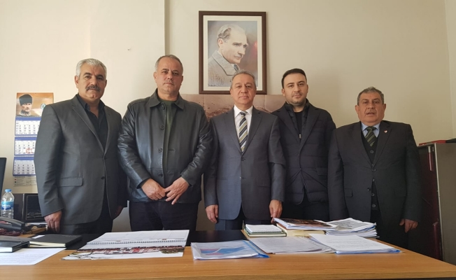 Urfaspor Yönetimi, ŞANVAK'ı ziyaret etti