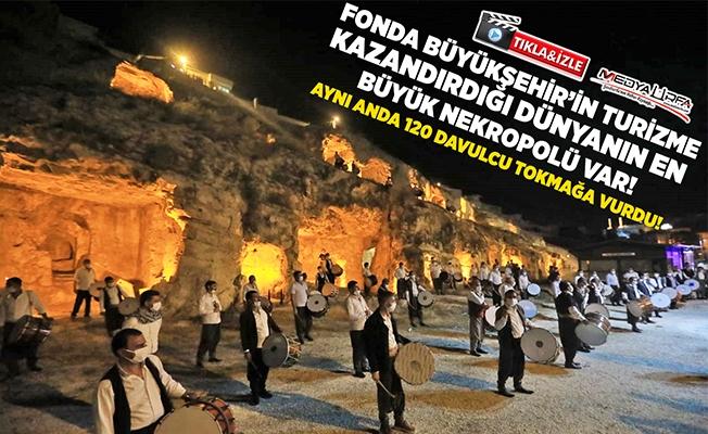 Büyükşehir'den Davulculara Bayram Jesti!