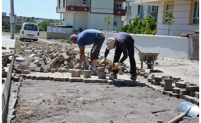Siverek'te üst yapı çalışmaları sürüyor