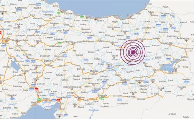 Bingöl'ü deprem vurdu!