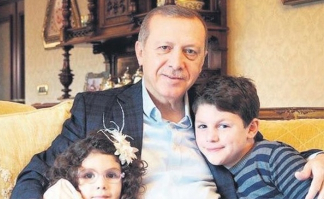 Erdoğan bir kez daha dede oldu