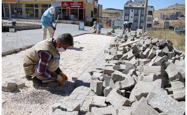Haliliye'de Fen İşleri Sahadan Kopmuyor