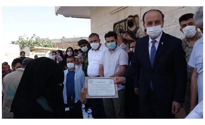 Resulayn'da mezuniyet töreni