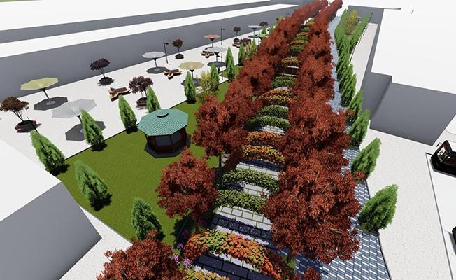 Şanlıurfa Yeşil Koridor Projesi ile Yeşillenecek