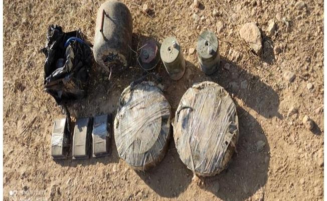 Suriye sınırında 68 KG patlayıcı madde ele geçirildi