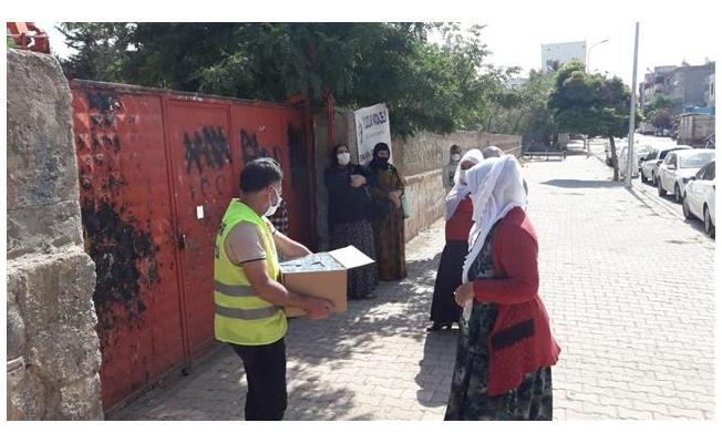 Viranşehir'de öğrenciler ve veliler unutulmadı