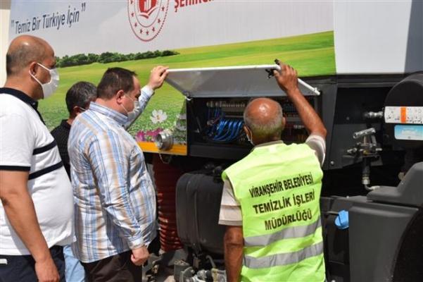 Viranşehir Belediyesi araç filosuna güç kattı