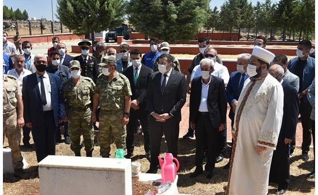 Başkan Aydın 15 Temmuz şehidinin ailesini ziyaret etti