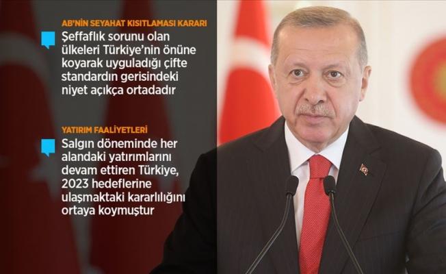 Erdoğan: Oyunları ve tuzakları yerle bir ettik
