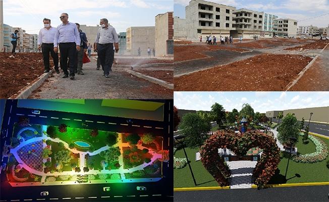 Eyyübiye'ye yeni yeşil alanlar kazandırılıyor
