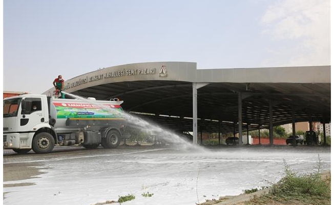 Karaköprü Kurban Bayramına hazırlanıyor