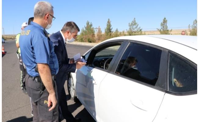 Şanlıurfa'da trafik denetimleri arttırıldı