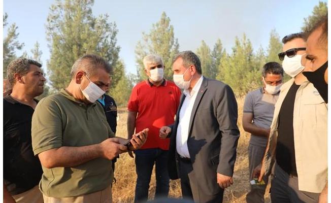 Urfa'daki yangına uçak müdahale etti!