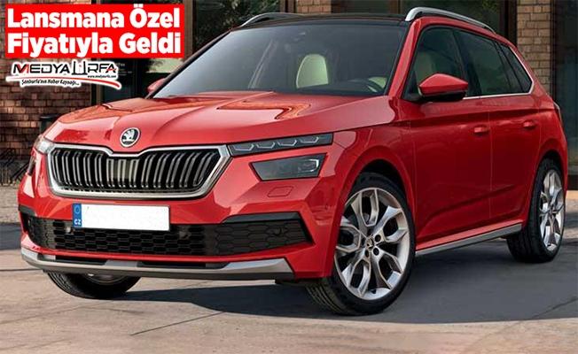 Skoda'nın yeni SUV'u Urfa'da satışa çıktı