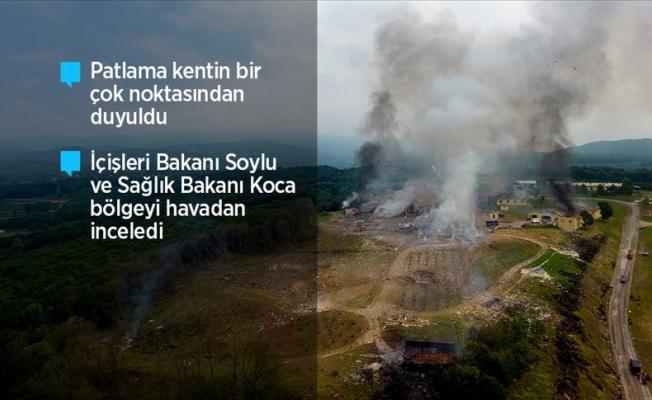 Türkiye'nin en büyüğünde patlama: 2 ölü, 73 yaralı