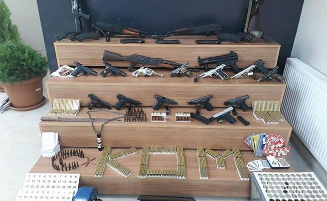 Urfa'da suç örgütlerine büyük operasyon