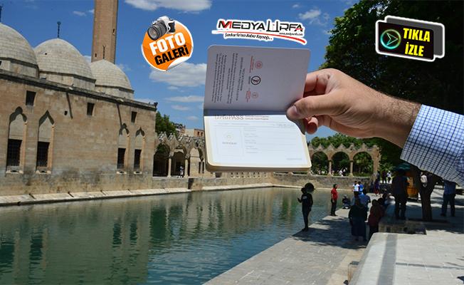 """Urfa'yı ziyaret edenlere özel """"pasaport uygulaması"""""""