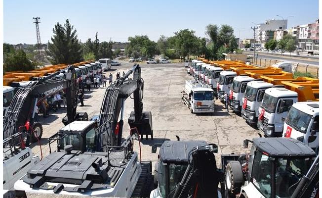 Viranşehir'de hizmet seferberliği