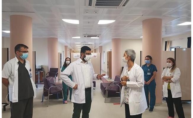 HRÜ'de Covid-19 Koordinasyon Merkezi açıldı