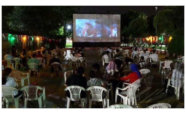Şanlıurfa'da açık hava sineması etkinliği