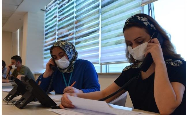 Şanlıurfa'da Kovid-19 hastalarına anlık takip