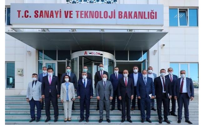 Şanlıurfa'ya 21,4 Milyon TL'lik Sanayi Yatırımı Müjdesi