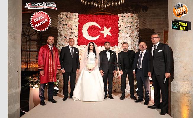 Ali Yasak'ın oğlu Ahmet Yasak evlendi