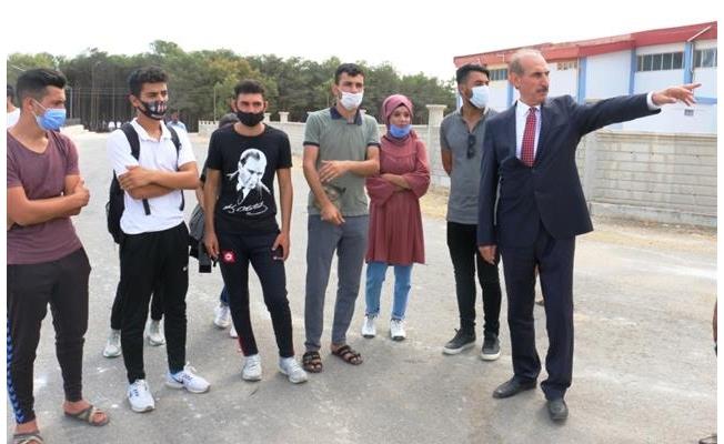 Başarılı öğrenciler Yalçınkaya'yı ziyaret etti