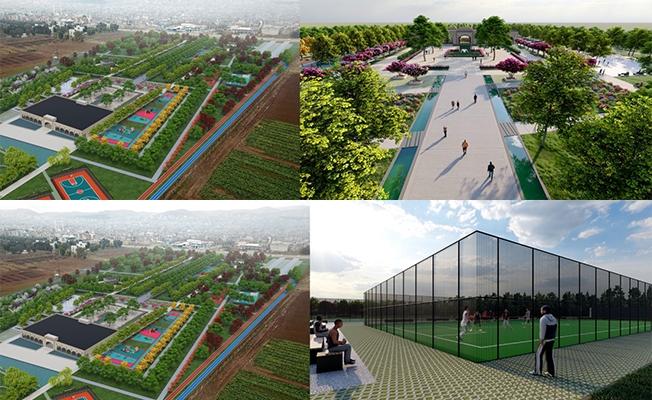 Bölgenin En Büyük Millet Bahçesi Yapılıyor